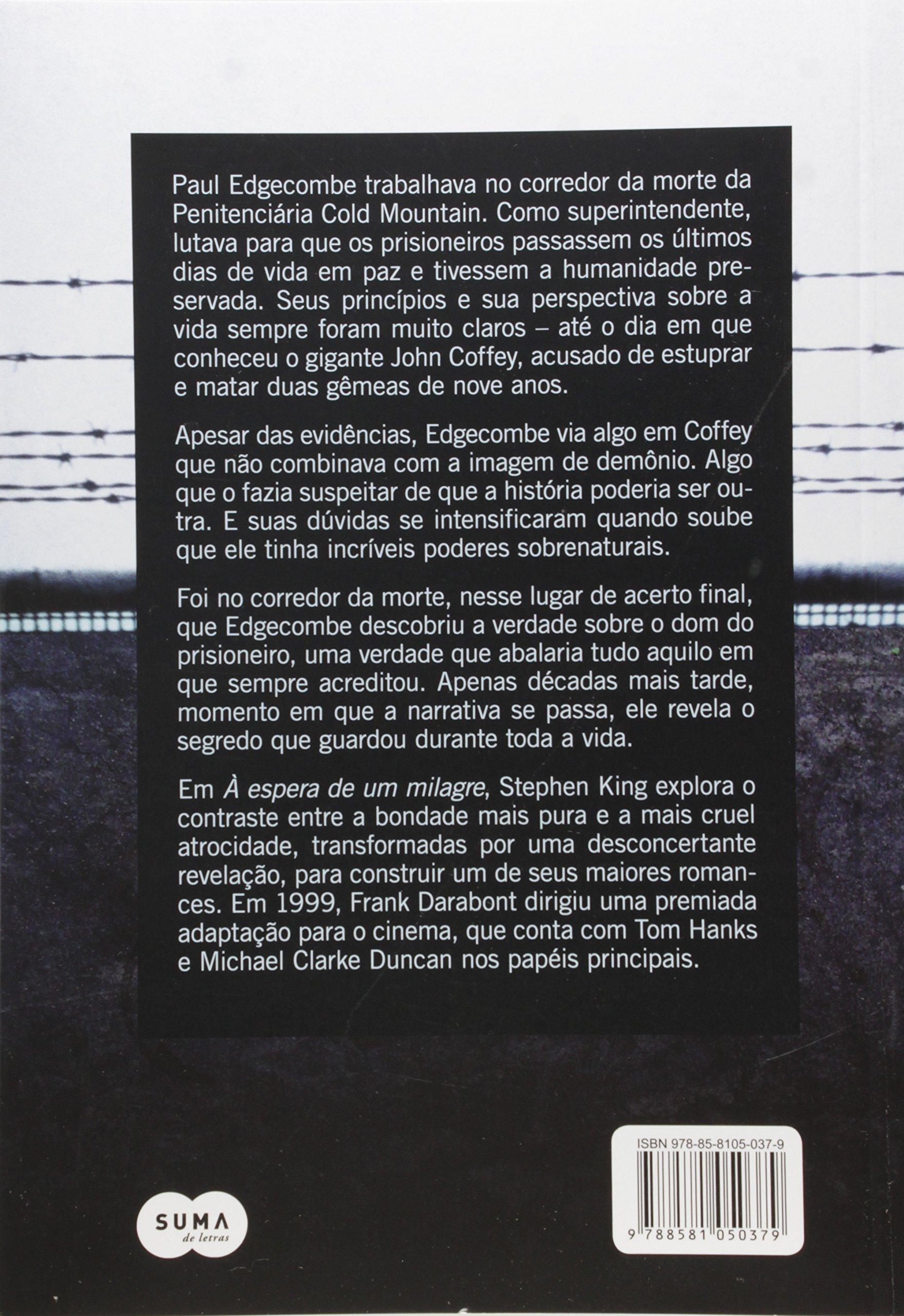 à Espera De Um Milagre 9788581050379 Livros Na Amazon Brasil