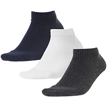 Champion a-calza corta 3PP Socks Auth., multicolor, 35