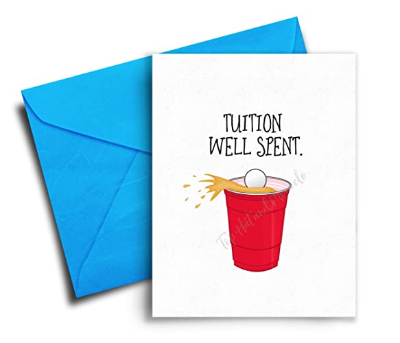 Amazon Com Funny Graduation Cards Congratulations Graduate Card