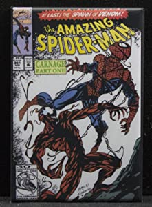 The Amazing Spider-Man #361 Comic Book Cover Refrigerator Magnet.