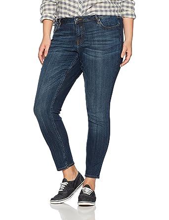 5d38f6e7681 Amazon.com  VIGOSS Women s Jagger Plus-Size Classic Fit Skinny Jean ...