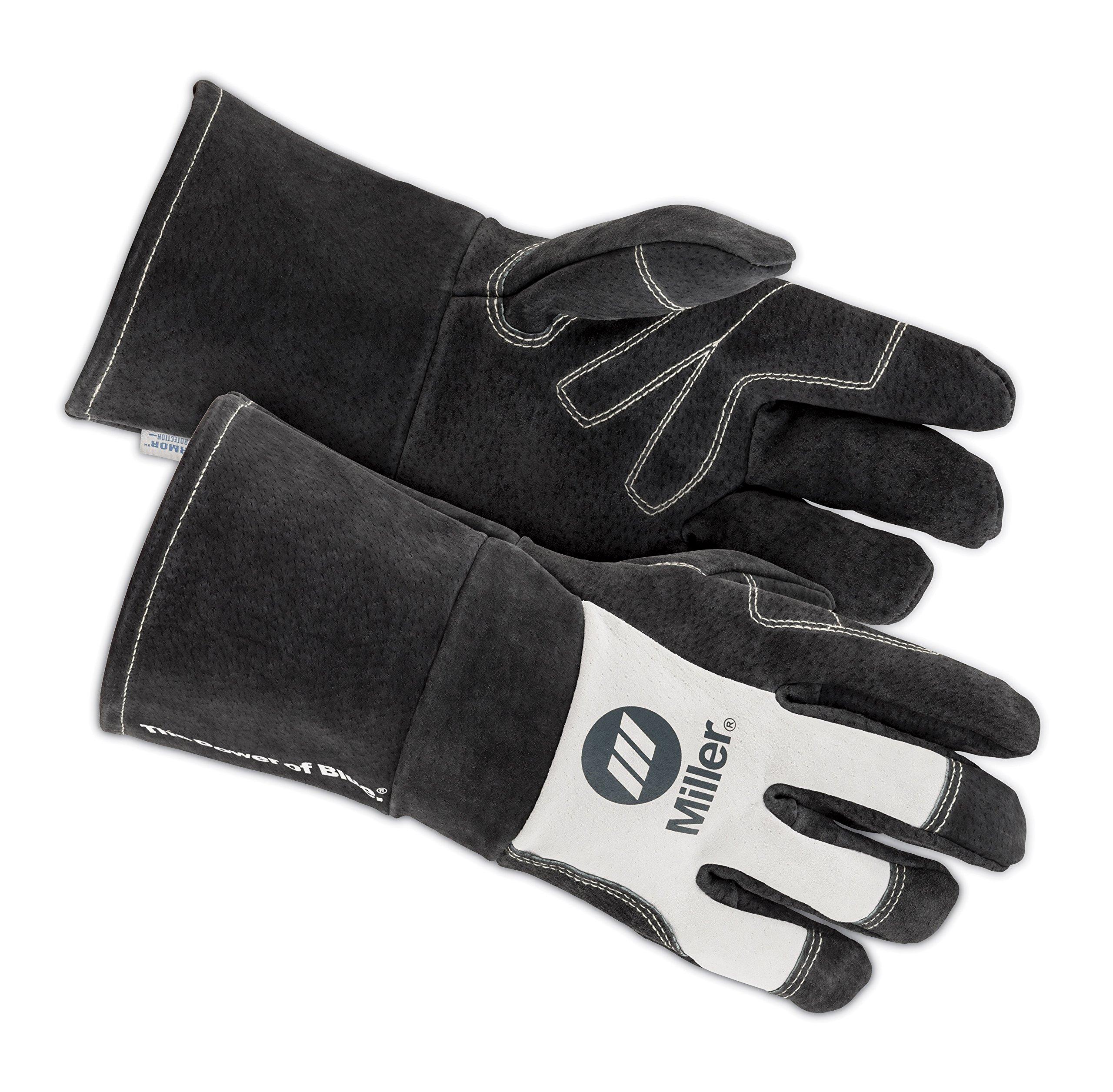 Welding Gloves, MIG, L, PR by Miller Electric