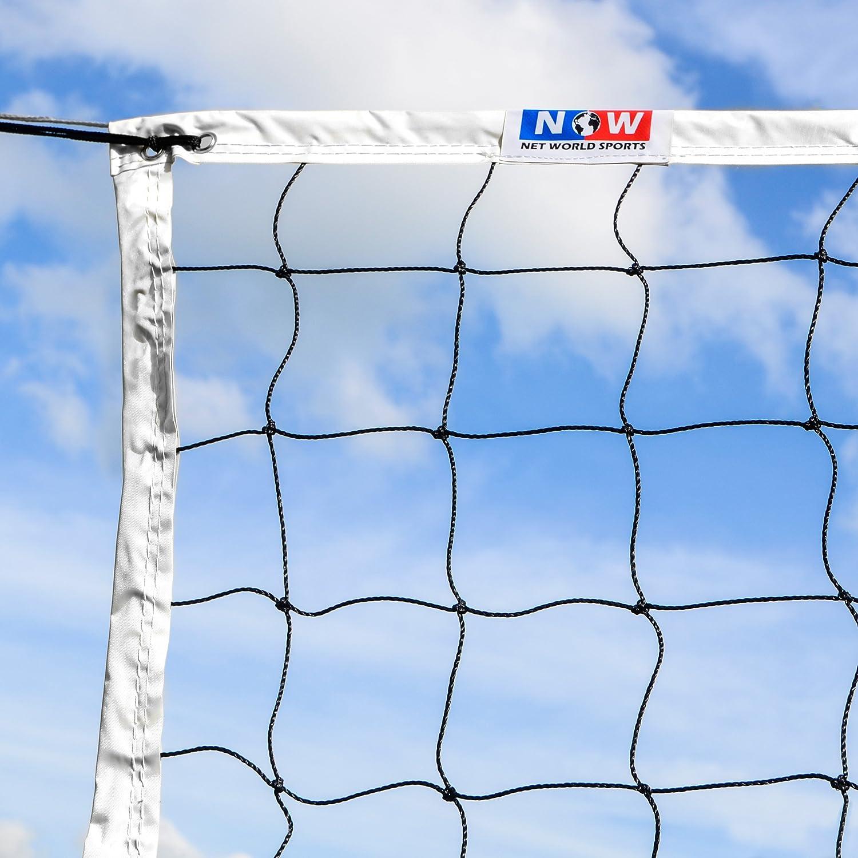 amazon com 28 u0027 beach volleyball net net world sports indoor