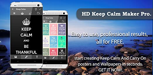 Amazoncom Keep Calm Generator Pro Appstore For Android
