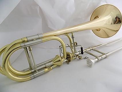 Amazon com: Bb/F/Eb/D Double Thayer Valves Trombone Brass