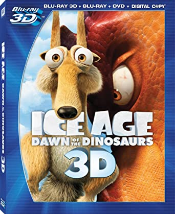 Amazon Com Ice Age Dawn Of The Dinosaurs Blu Ray 3d Blu Ray Dvd Digital Copy Simon Pegg Ray Romano John Leguizamo Denis Leary Queen Latifah Atticus Shaffer Chris Wedge Clea Lewis