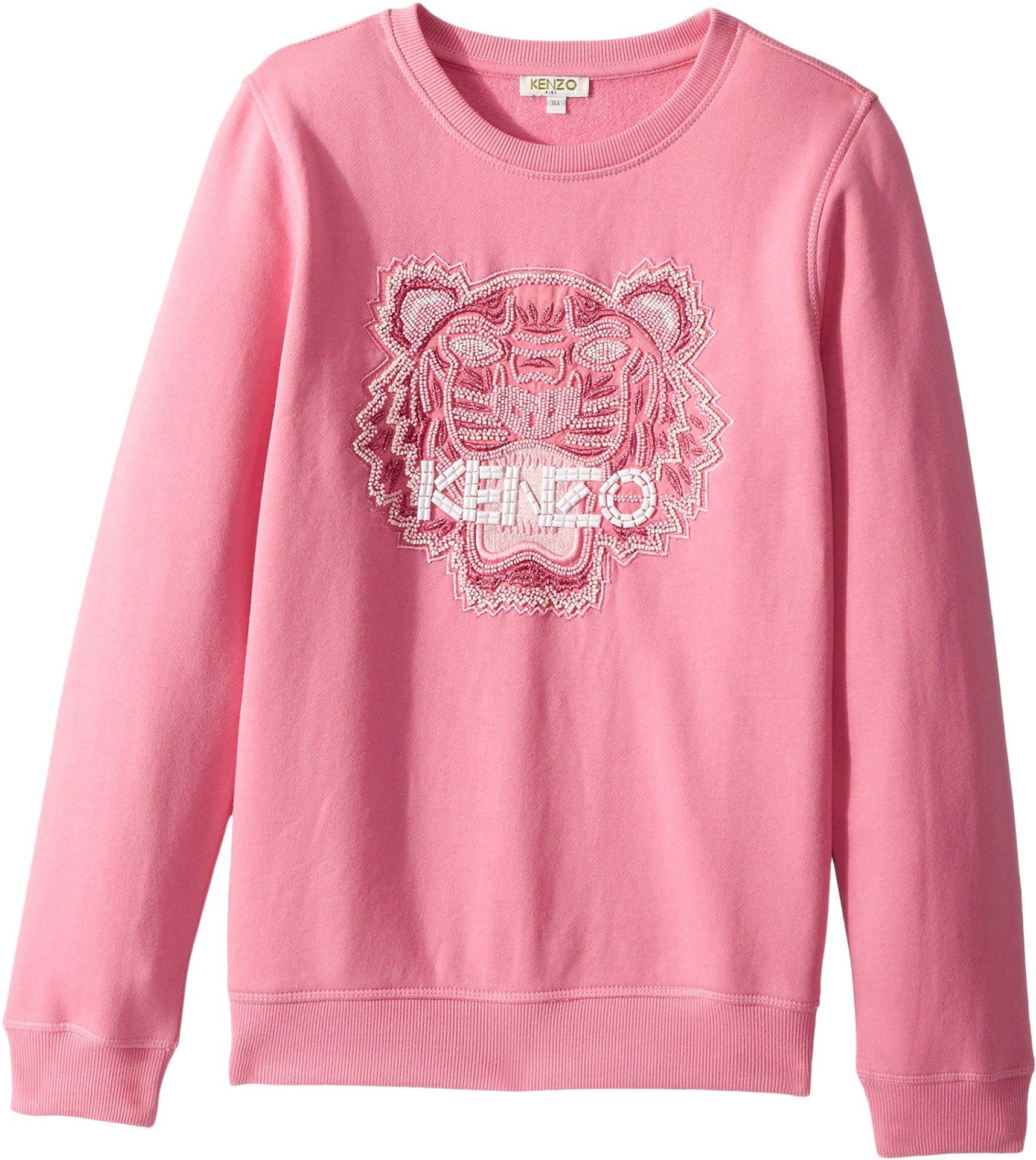 Kenzo Kids Girl's Tiger Sweatshirt (Big Kids) Bubble 14
