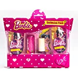Barbie Exclusive Pack-(B&S.Gel-50ml+C.Shampoo-50ml+L.B+N.P)