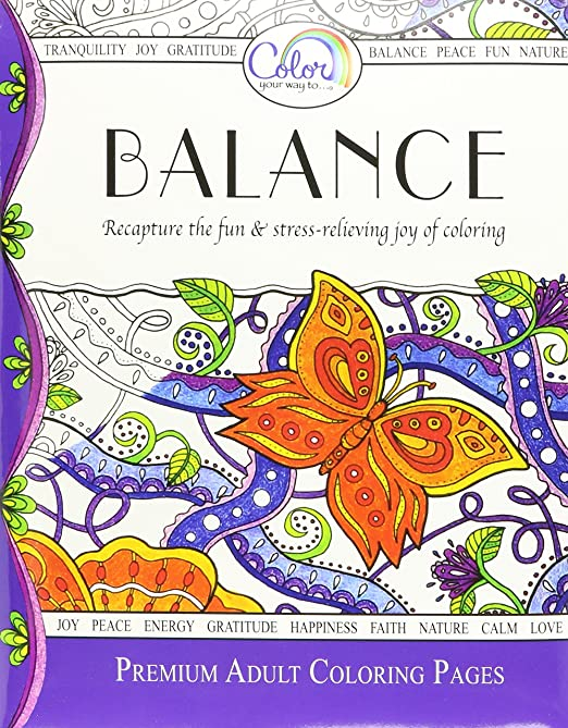 Amazon.com: Best Nature Mandala Stress Relieving Adult Coloring ...
