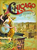 Chicago Illinois 1893 World's Fair United States Travel Advertisement Poster