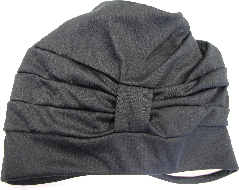Fashy Womens 3472 Fabric Swim Turban with Velcro Strip
