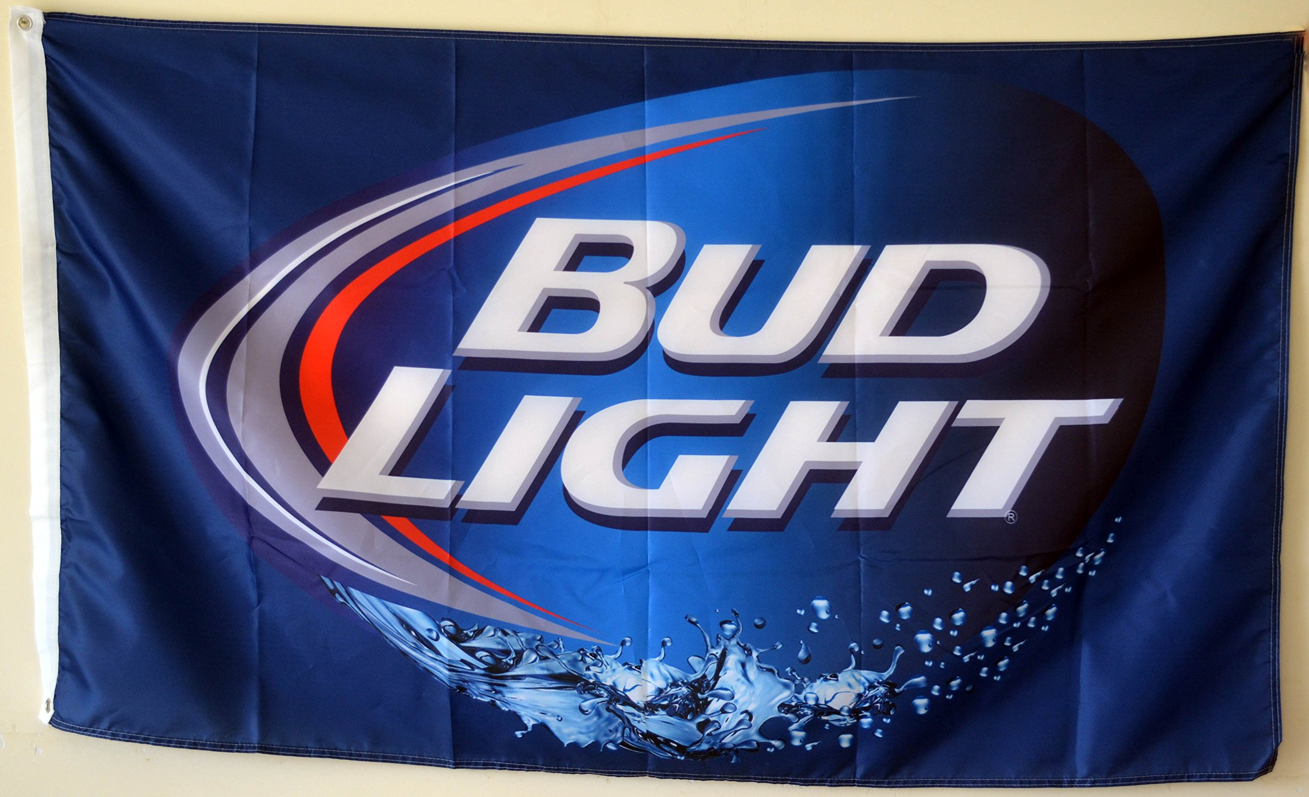2But Budweiser Bud Light Beer Flag Banner 3x5 Feet Man Cave by 2But