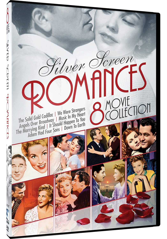 Silver Screen Romances - 8-Movie Collection Judy Holliday Rita Hayworth Ingrid Bergman Jennifer Jones