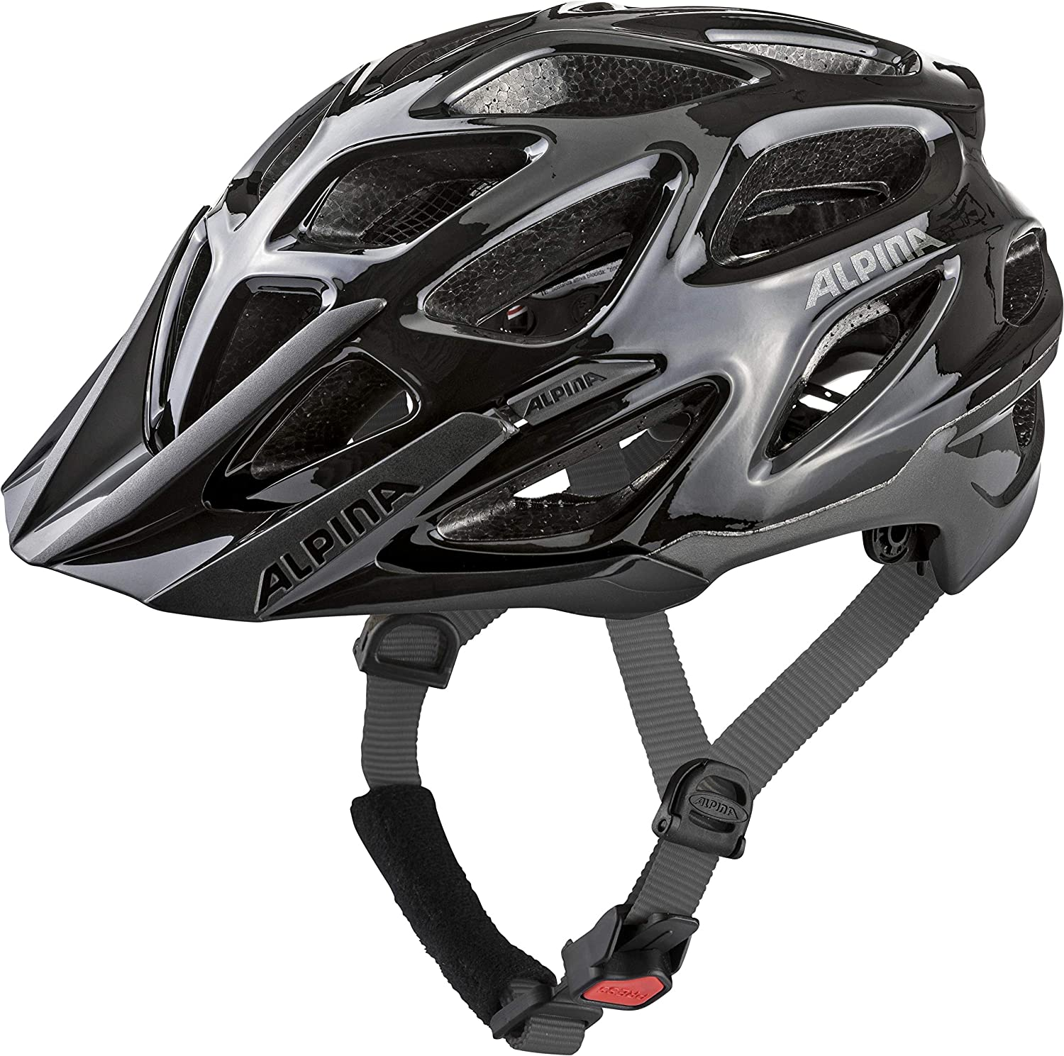ALPINA Mythos 3.0 Casque de vélo Mixte black-anthracite