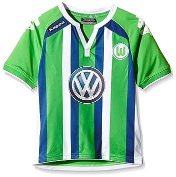 Kappa VFL – Camiseta de fútbol Away, infantil, color Verde - Verde (304