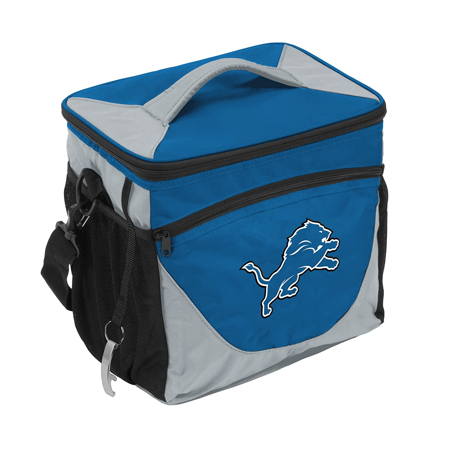 Logo Brands 611 63 Nfl Detroit Lions Carrot 24 Can Cooler One Size