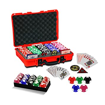 casinoite Poker Chips Set without Denomination (500)
