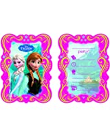 Disney Frozen Party Invitations, Pack of 6
