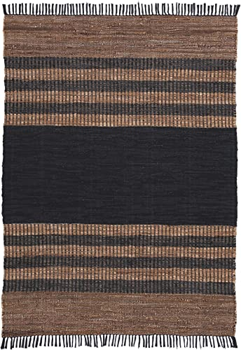 Signature Design by Ashley Zoran Medium Rug, Black Brown