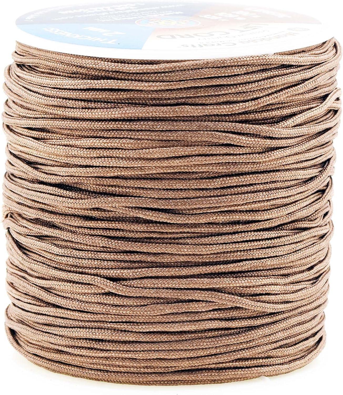100 Feet  1.2 Mm Chocolate Professional Grade Lift Cord For Window Treatments