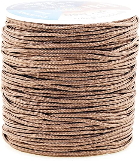 Windows Mandala Crafts Blinds String Shades 2mm, Tan Lift Cord Replacement from Braided Nylon for RVs and Rollers