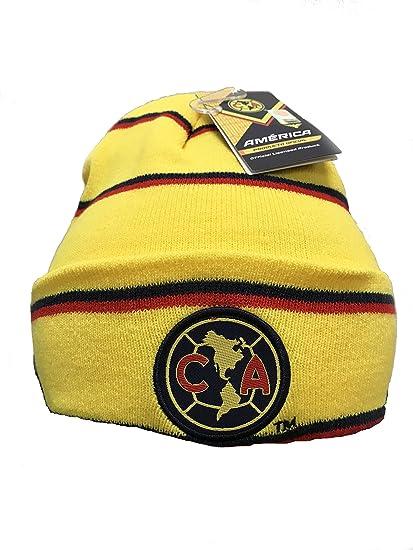311affd791c Amazon.com   Club Aguilas del America Official Beanie   Soccer ...