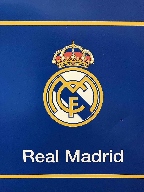 New Licensed Real Madrid Luxury Plush Kingサイズブランケット84