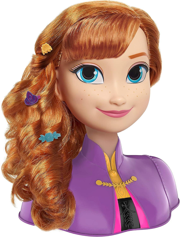 Disney T/ête a coiffer Anna la Reine des neiges 2
