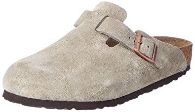 0e14517a49d4 Birkenstock Men s Boston Suede Clogs 39 Beige