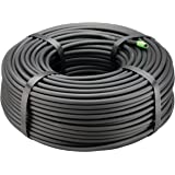 "Rain Bird T22-250S Drip Irrigation 1/4"" Blank Distribution Tubing, 250' Roll, Black"