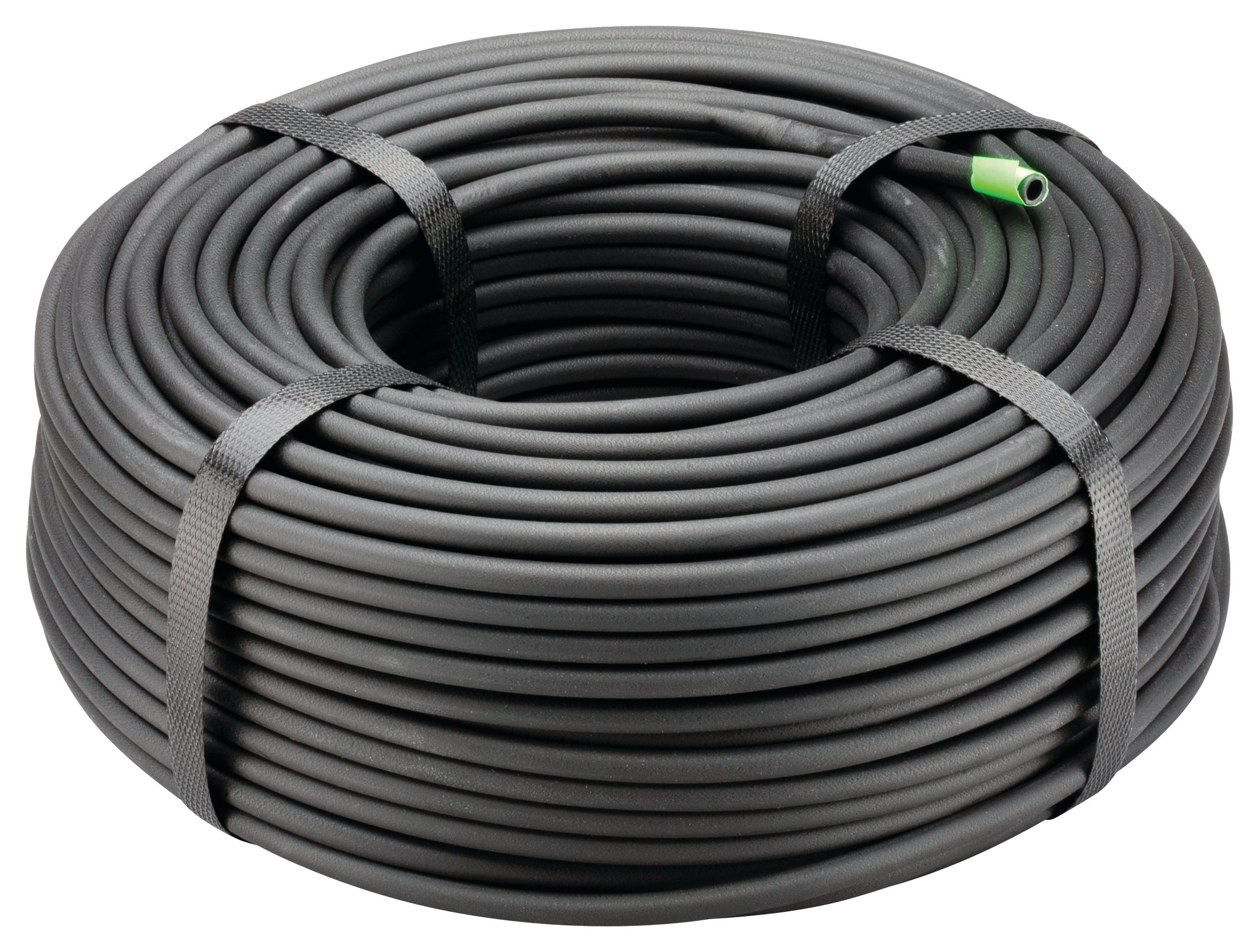 Rain Bird T22-250S Drip Irrigation 1/4'' Blank Distribution Tubing, 250' Roll, Black