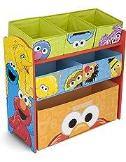 Sesame Street Delta Children Multi-Bin Toy Organizer