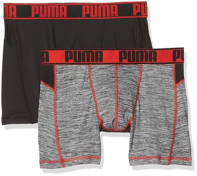 Puma Ropa Interior de Deporte para Hombre (Pack de 2): Amazon.es: Ropa y accesorios