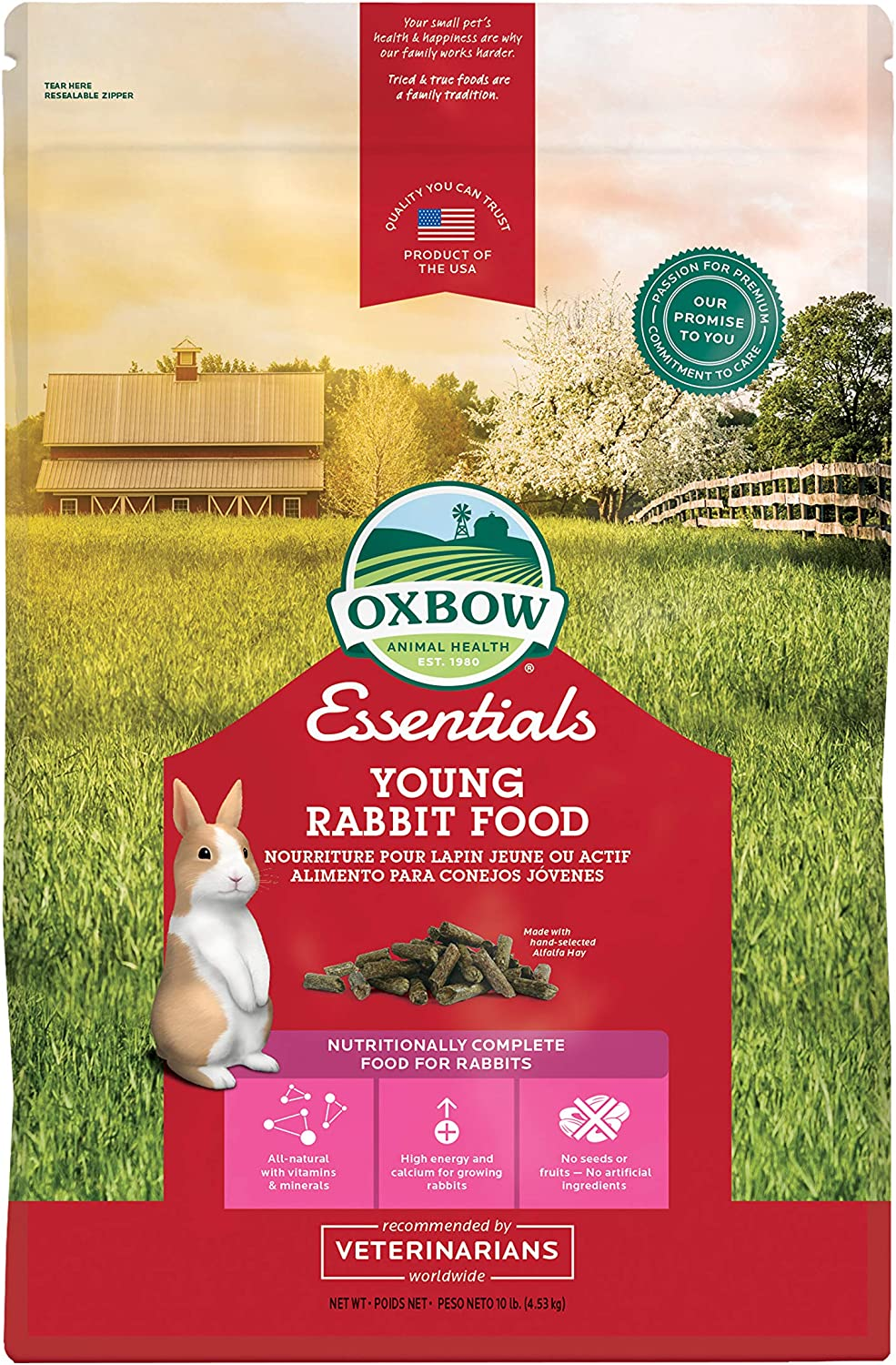 Oxbow Animal Health Bunny Basics Essential