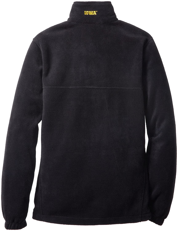 NCAA Iowa Hawkeyes Mens Collegiate Flanker II Full Zip Fleece Sweater