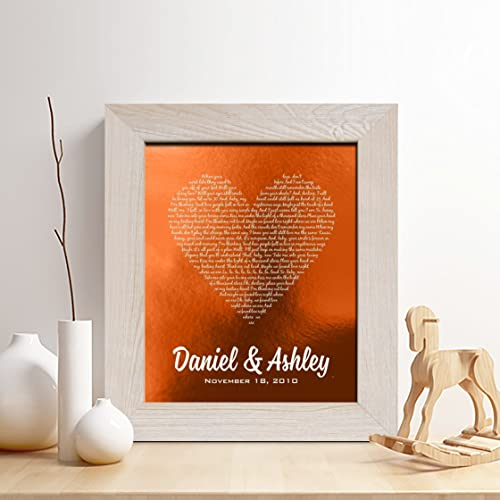 Amazon.com: Personalized 7th or 22nd Copper Anniversary Gift for Him ...