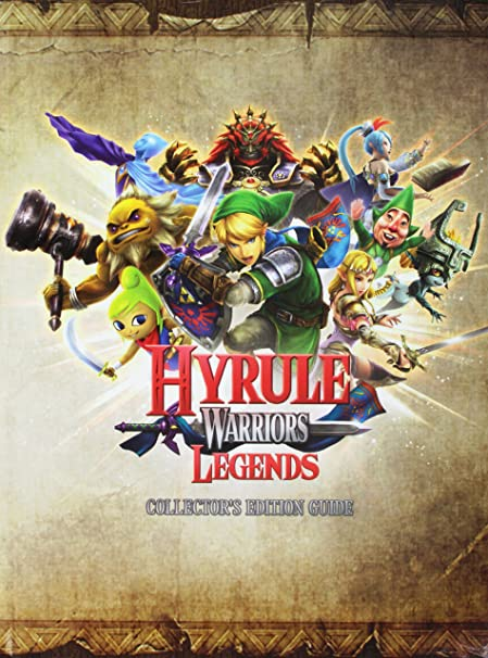 Amazon Com Hyrule Warriors Legends Collectors Edition Guide Video Games