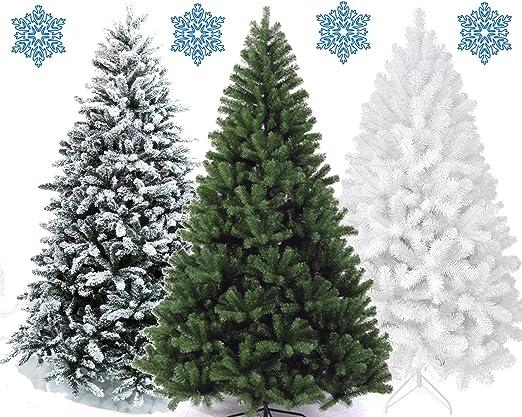 Künstlicher Weihnachtsbaum Tannenbaum Kunst Tanne Baum Christbaum 180 cm weiß