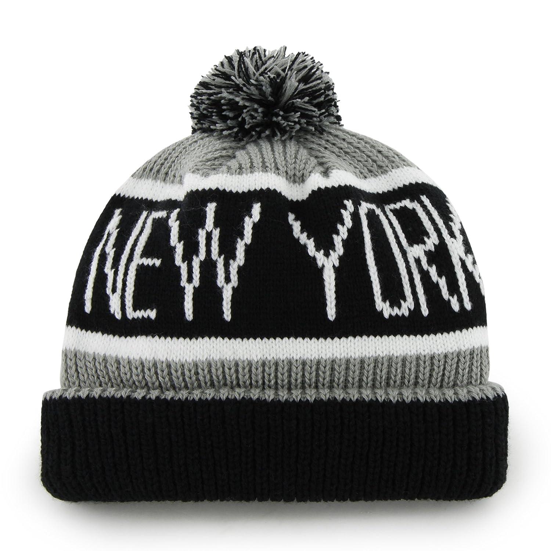 d17bebf9b4d Amazon.com   MLB New York Yankees Men s Calgary Knit Cuff Cap