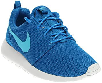 low priced 4896a 66e6a Nike Baskets One, femme multisport d extérieur - Bleu - bleu blanc,