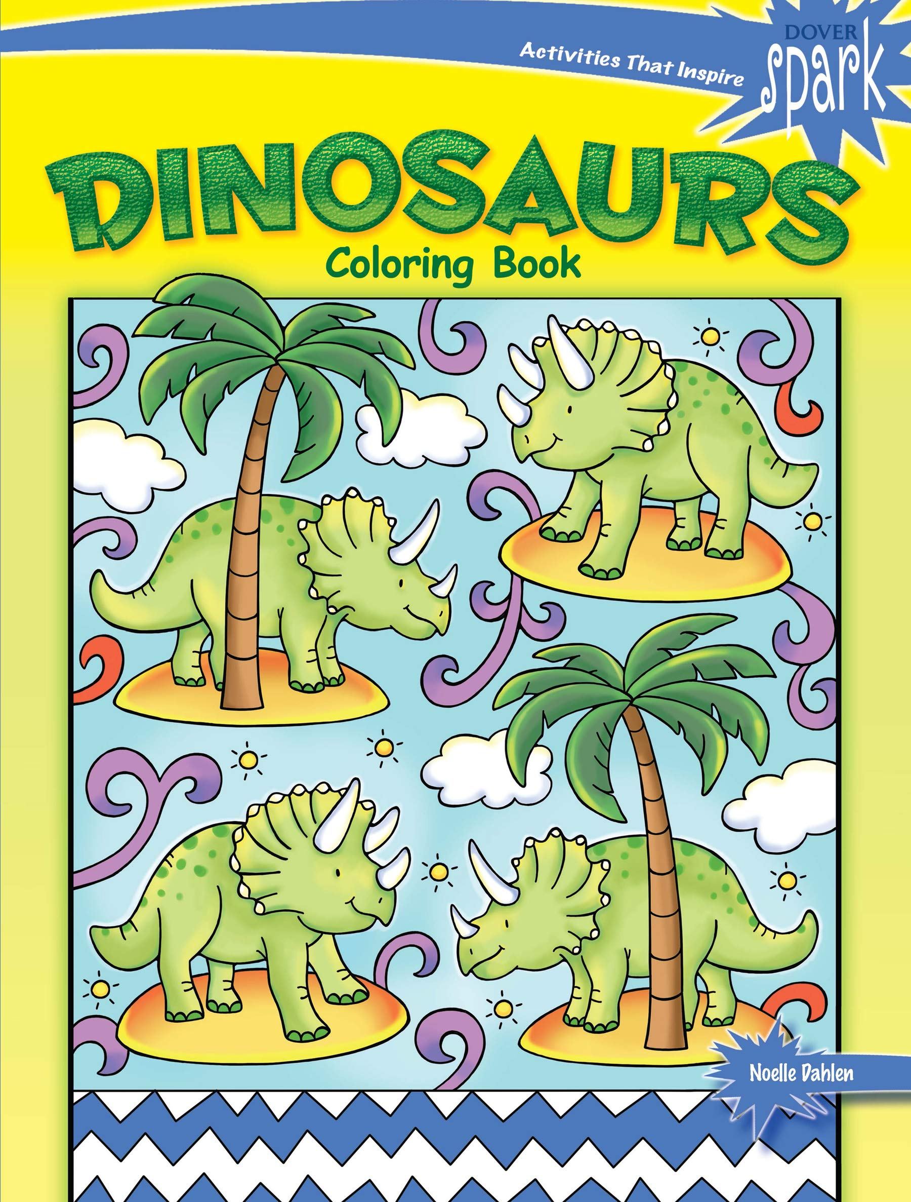 SPARK Dinosaurs Coloring Book (Dover Coloring Books): Noelle ...