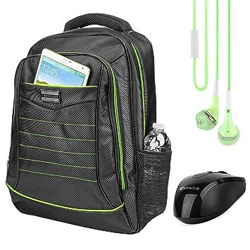 Amazon.com: Vangoddy Travel Casual Daypack Padded Zipper ...