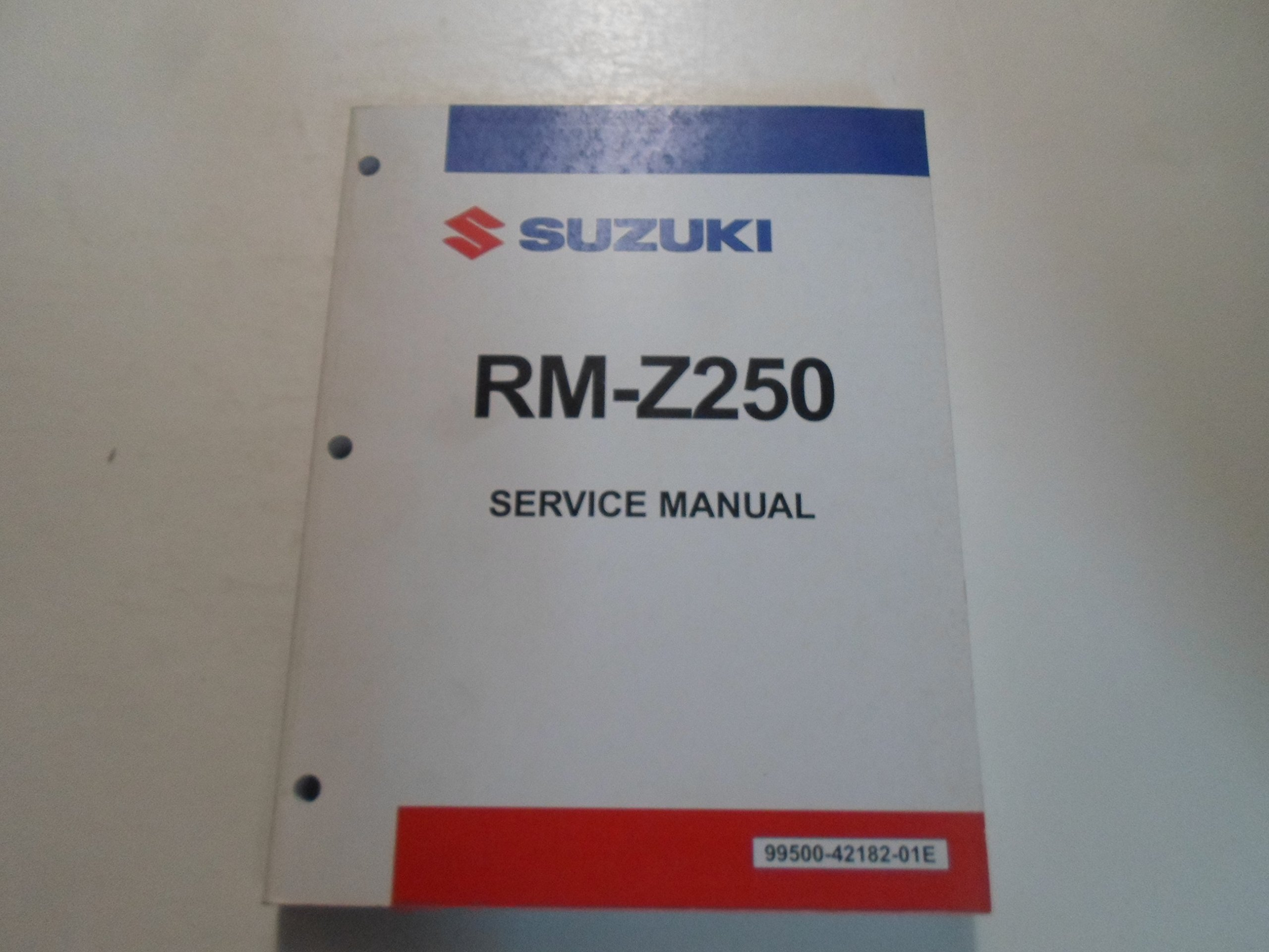 2004 2005 2006 Suzuki RM-Z250 Service Repair Manual MINOR STAINS: Suzuki:  Amazon.com: Books