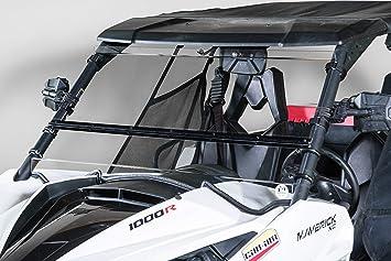 "2013-2018 Can AM Maverick Max 1000r 3//16 /"" POLYCARBONATE FOLD DOWN  Windshield"