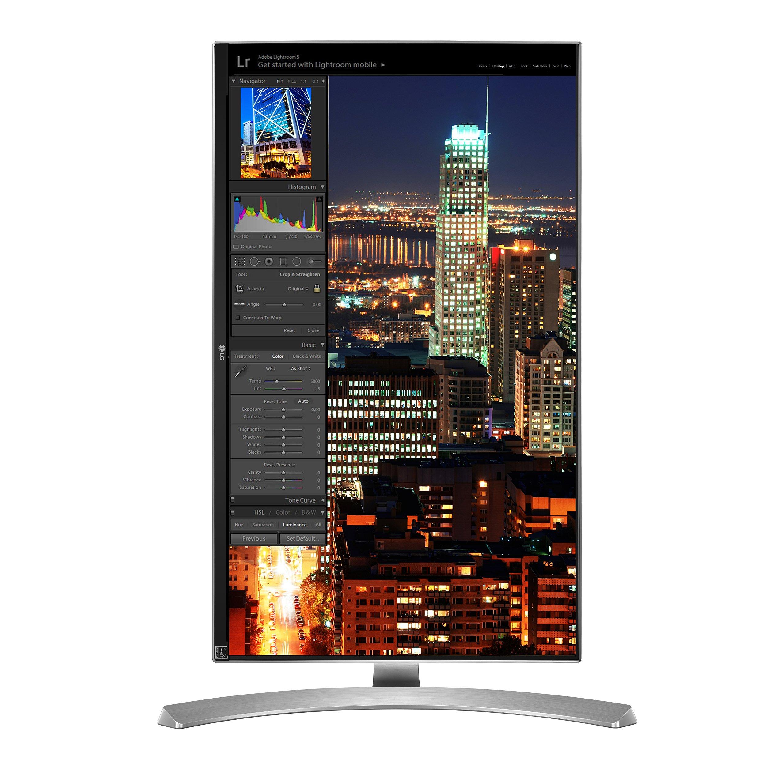 """LG Electronics 4K UHD 27UD88-W 27"""" LED-Lit Monitor with USB Type-C"""