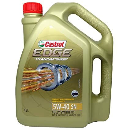 Rørig Castrol 6114772 Edge Ti 5W-40 Car Engine Oil (3.5 L): Amazon.in HZ-49