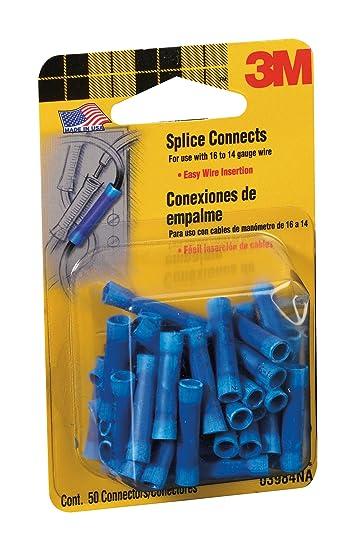 3 M 3984 16 bis 14-gauge Draht Splice elektrischen Anschlüssen, Blau ...