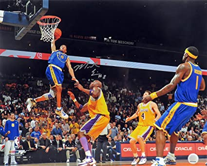 "35da11d7e Golden State Warriors Monta Ellis Autographed ""Slam vs. Lakers"" 16x20  Photograph (unframed"