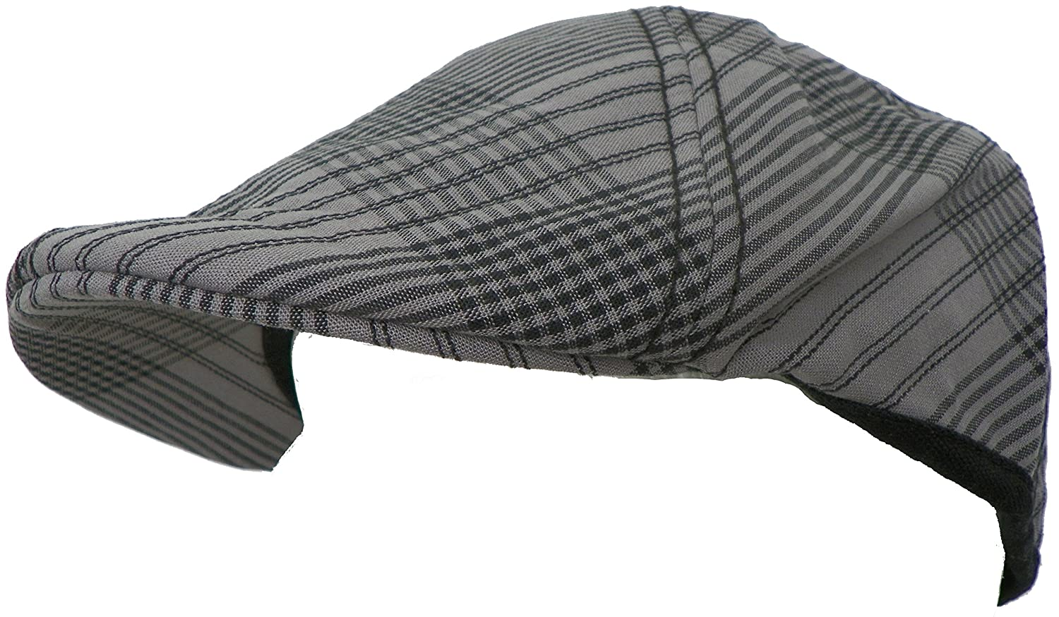 Dickies Gray /& Black Plaid Reversibe Ivy Cap
