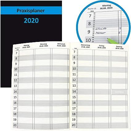 Agenda 2020 A4 de 15 minutos, agenda con fecha, calendario ...